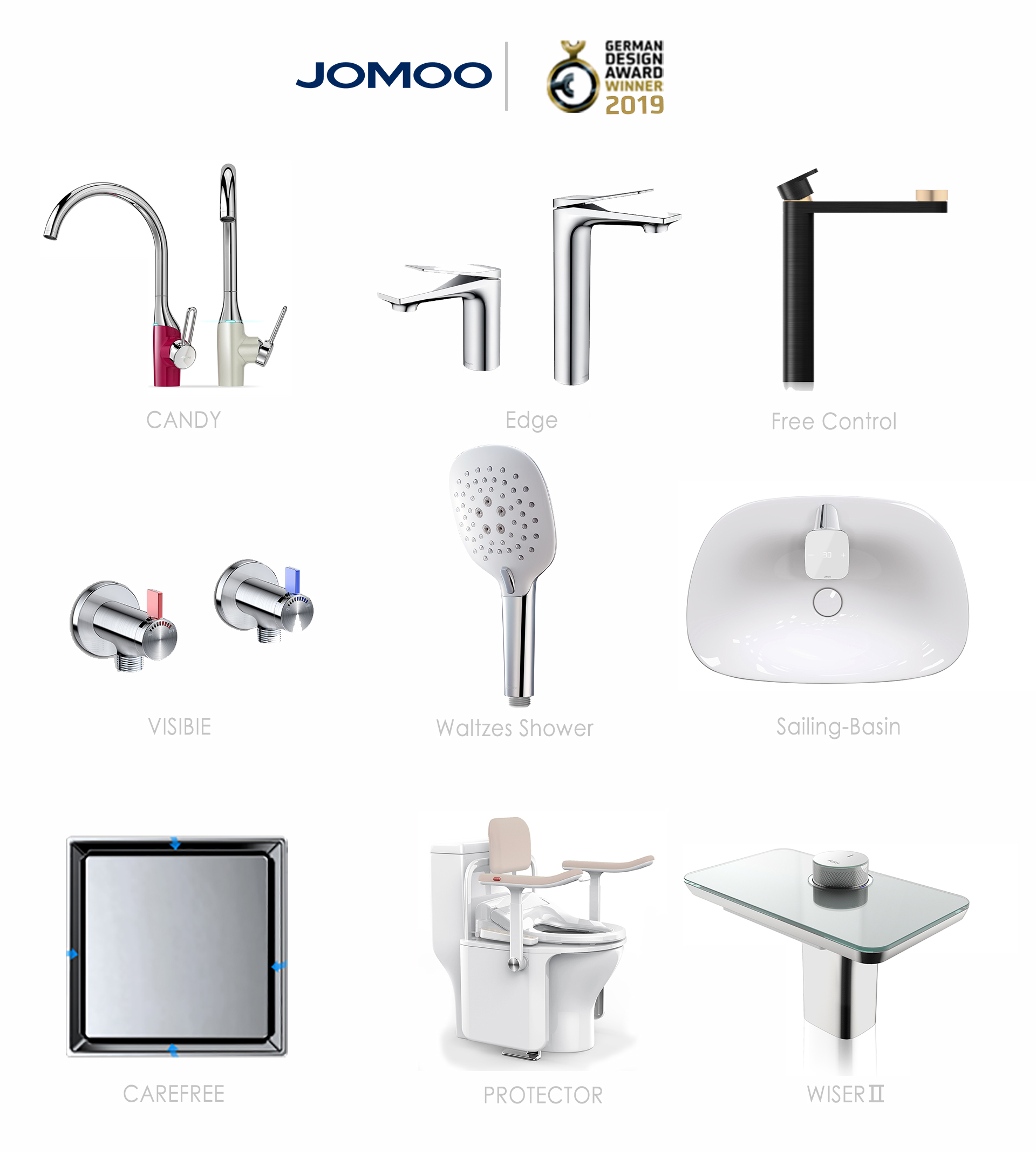 JOMOO Nominated by German Design Award With 9 Products JOMOO ...